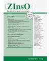 ZInsO - Zeitschrift für das gesamte Insolvenzrecht
