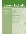 BauW - Zeitschrift Bauwirtschaft