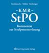 KMR - Kommentar zur Strafprozessordnung