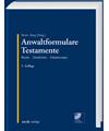 Anwaltformulare Testament