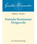 Hoffmann/Kleespies, Formular-Kommentar Designrecht