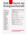 RdE - Recht der Energiewirtschaft