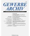 GewArch - GEWERBE ARCHIV