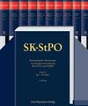 SK-StPO Systematischer Kommentar zur Strafprozessordnung, Bd. I - X