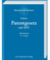 Patentgesetz mit EPÜ