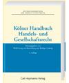 Kölner Handbuch Handels- und Gesellschaftsrecht