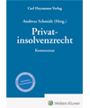 Privatinsolvenzrecht Kommentar