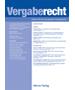 VergabeR - Zeitschrift für das gesamte Vergaberecht