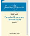 Formular-Kommentar Insolvenzrecht