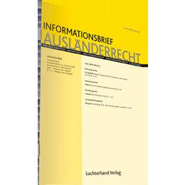 IAR - Informationsbrief Ausländerrecht