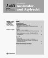 AUAS - Schnelldienst Ausländer- und Asylrecht